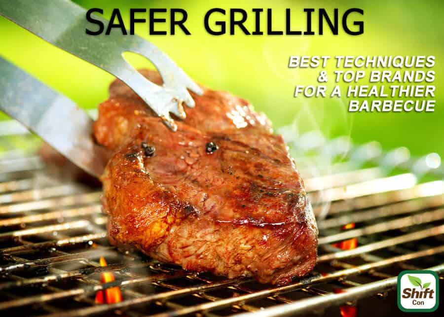 Safer tips for grilling