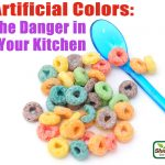 artificially colored cereal