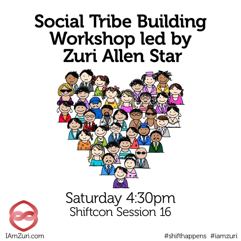 ShiftCon Social Tribe Building with #Iamzuri