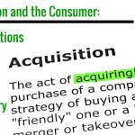 Acquisition panel