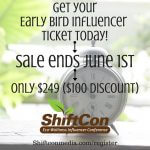 ShiftCon Early Bird Ticket Sales