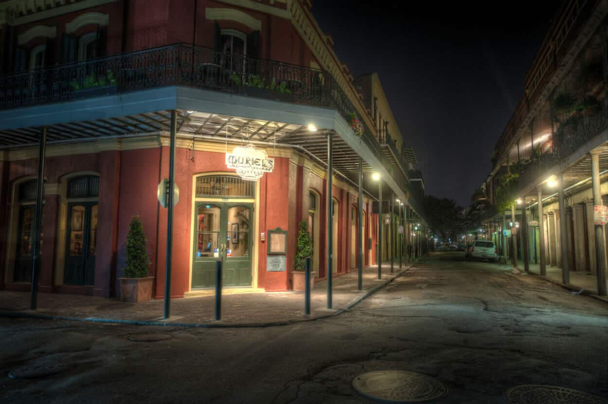 New Orleans Haunted Mansion Tour